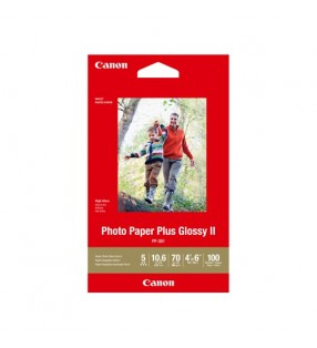 CANON PP3014X6-100 100 SHTS 260 GSM PHOTO PAPER PLUS GLOSSY II
