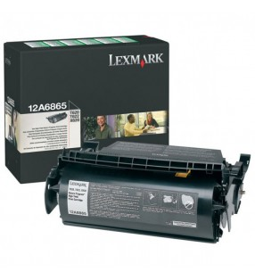 12A6865 BLACK RETURN PROGRAM TONER YIELD 30000 PAGES FOR T620 T622 X620