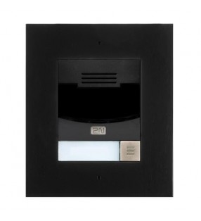 2N IP SOLO WITH CAMERA BLACK FLUSH MOUNT