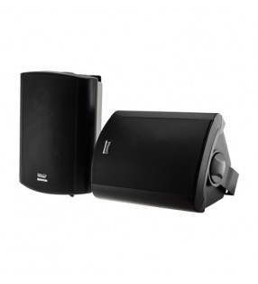 CLASS5AW BLACK PAIR 2-WAY 40W CLASS D AMP IN & OUTDOOR ACTIVE SPEAKERS WITH STANDBY