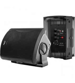 CLASS6AW BLACK PAIR 2-WAY 60W CLASS D AMP IN & OUTDOOR ACTIVE SPEAKERS WITH STANDBY