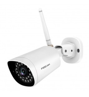 FOSCAM FI9902P 2.0 MP FULL HD W-PROOF WIRED/W-LESS IP CAM WHITE