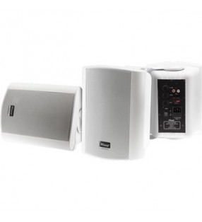 CLASS5AW WHITE PAIR 2-WAY 40W CLASS D AMP IN & OUTDOOR ACTIVE